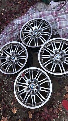 "2001-2006 BMW M3 19"" Staggered Aluminum Wheel Rims Set of 4 OEM Refinished"
