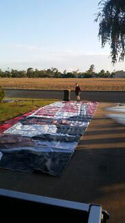 PVC TARP for camping Blackwater Central Highlands Preview