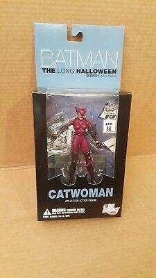 DC Direct Batman THE LONG HALLOWEEN CATWOMAN Series 1 Action - Catwoman Long Halloween Action Figure