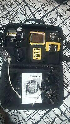 Jdsu Validator Nt900 Lan Ethernet Cable Tester Nt-900 Certifier Kit