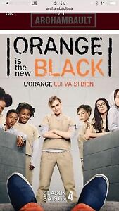 Orange is the new black saison 4 DVD original fr et ang
