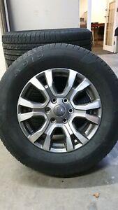 Ford Ranger Wildtrak MY17 Wheels & Tyres