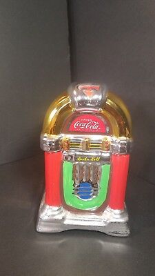 Coca-Cola Salt & Pepper Shakers Rock N Roll Juke Box Retro New without box