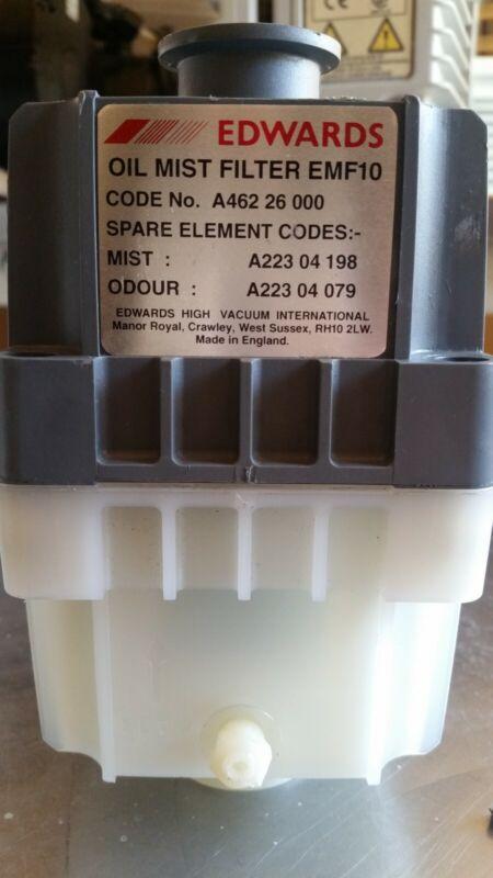 Edwards EMF10 Oil Mist Filter - Cleaned