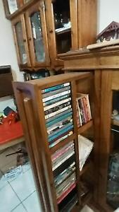 FREE FREE 2 x shelves cabinet dvd/cd sliding compartment / moving Yagoona Bankstown Area Preview