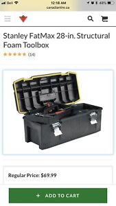"""28"""" Stanley Fat Max Toolbox"""