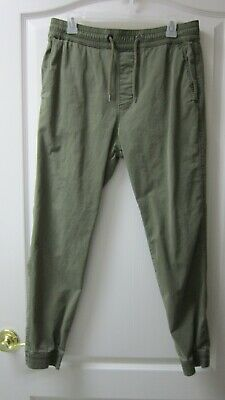 HOLLISTER SKINNY STRETCH JOGGER PANTS SIZE MEDIUM