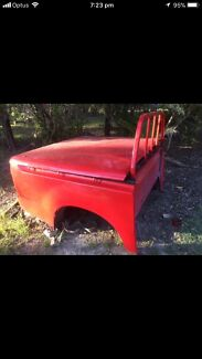 Red Sr Toyota hilux tub hard lid not included