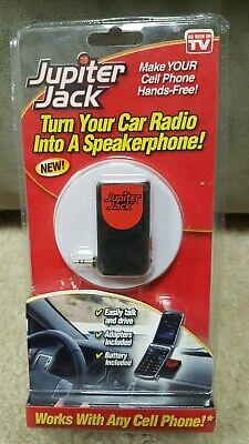 Jupiter Jack Cellphone to Car Radio Kit Turn Car Radio into a Speakerphone 2009