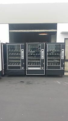 3-automatic Products Snack Vending Machines Ap 7600 Glass Front Vending Machine