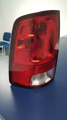 Tail Light For 2011-2016 Ram 1500 SLT LH w/ Bulb Clear & Red Lens