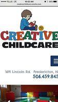 Childcare worker needed.