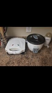 Toaster and Rice cooker
