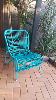 Outdoor PVC Cane Chairs x 2