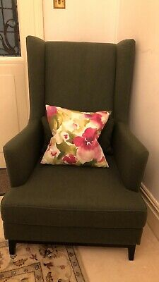 Beautiful Upholstered Armchair Lounge - Excellent - Collection ONLY in W14