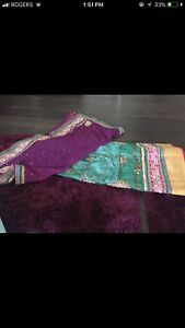 Brand new/worn once lenghas/sarees/gowns/suits- CHEAP