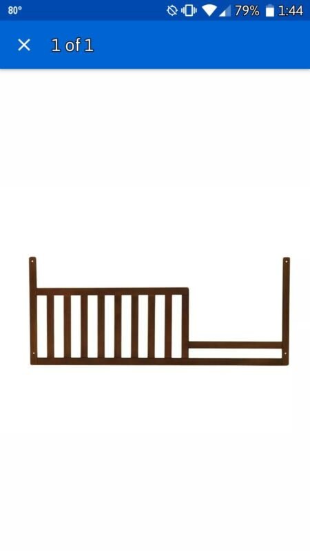 Baby Cache Manhattan Collection Toddler Guard Rail - Cognac 4575-COG