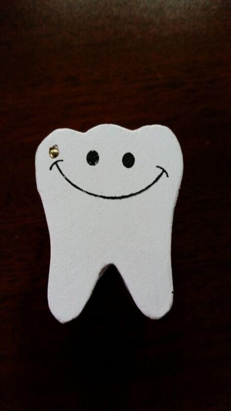 2 - Wooden Tooth Fairy Treasure Box w/ Note - Kids Keepsake Gift Boys Girls