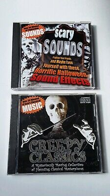 Creepy Halloween Sound Effects (Scary Sounds Horrific Halloween Sound Effects CD and Creepy Classics)