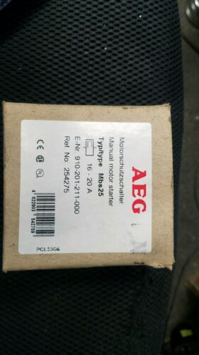 MBS25-N AEG 16-20A 3-POLE Manual Motor Starter 910-201-211-000