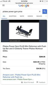 Pilates workout machine
