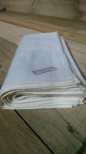 6 vintage dinner napkins All Irish Linen