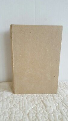 Paper Mache Book Box- 3D Unfinished Craft Letter Shape - Home - Paper Mache Book Box
