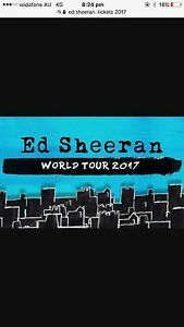 Ed Sheeran Fairfield West Fairfield Area Preview