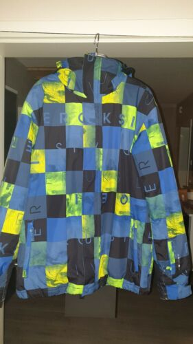 Quiksilver Mission Print Jacket Jungen , Herren, SKIJACKE , Snowboardjacke
