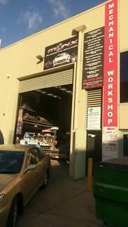AUTOMOTIVE MECHANICAL  WORKSHOP FOR SALE STRATHFIELD SOUTH NSW