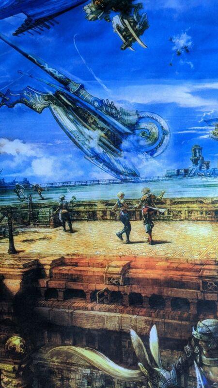 Final Fantasy XII Fabric Wall Scroll
