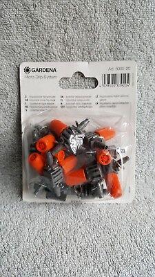 GARDENA 8392-20 U Adjustable Inline Drip Head - Micro Drip System
