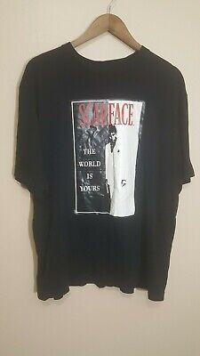 Vintage Scarface T Shirt Tony Montana Al Pacino Size XL