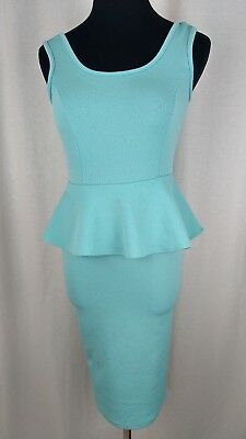 - Doublju by J. Tomson Baby Blue Bandage Tight Fitting Dress Size Small