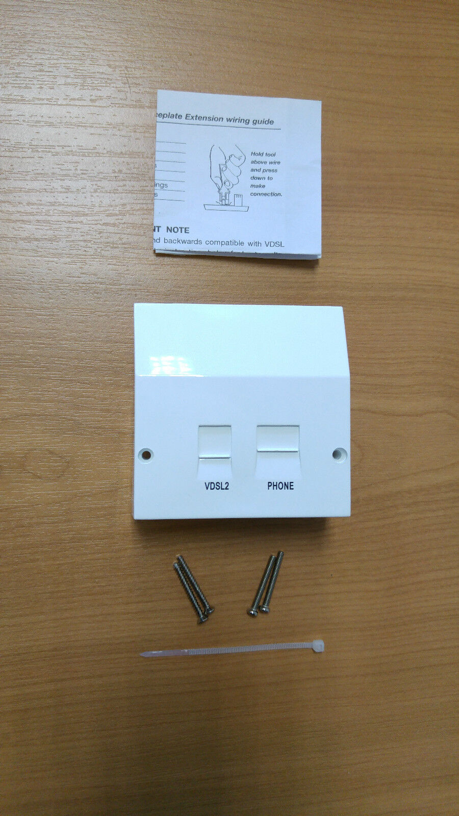 Plusnet Bt Vdsl2 High Speed Fibre Broadband Filter Cover 4 Nte5 Wiring Master Box Of 6 Socket 5