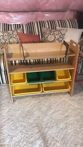 Toy organizer in great condition