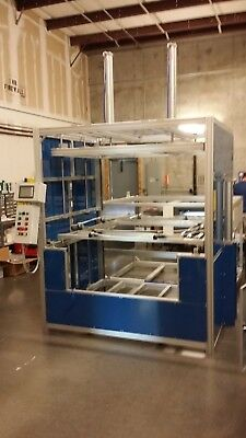 Sibe Automation Vacuum Former 48 X 60 Dual Heater Dual Platen Thermoforming