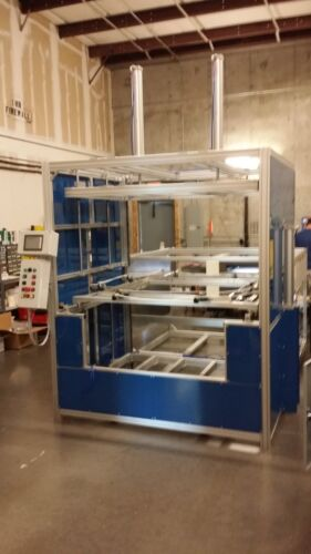 """SIBE AUTOMATION VACUUM FORMER 48"""" X 60"""" DUAL HEATER DUAL PLATEN THERMOFORMING"""