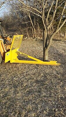 Tree Saw Skid Steer Loader Attachment Cuts 14trees 7ft Blade Cheap Shipping