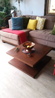 Square coffee table  Albert Park Port Phillip Preview