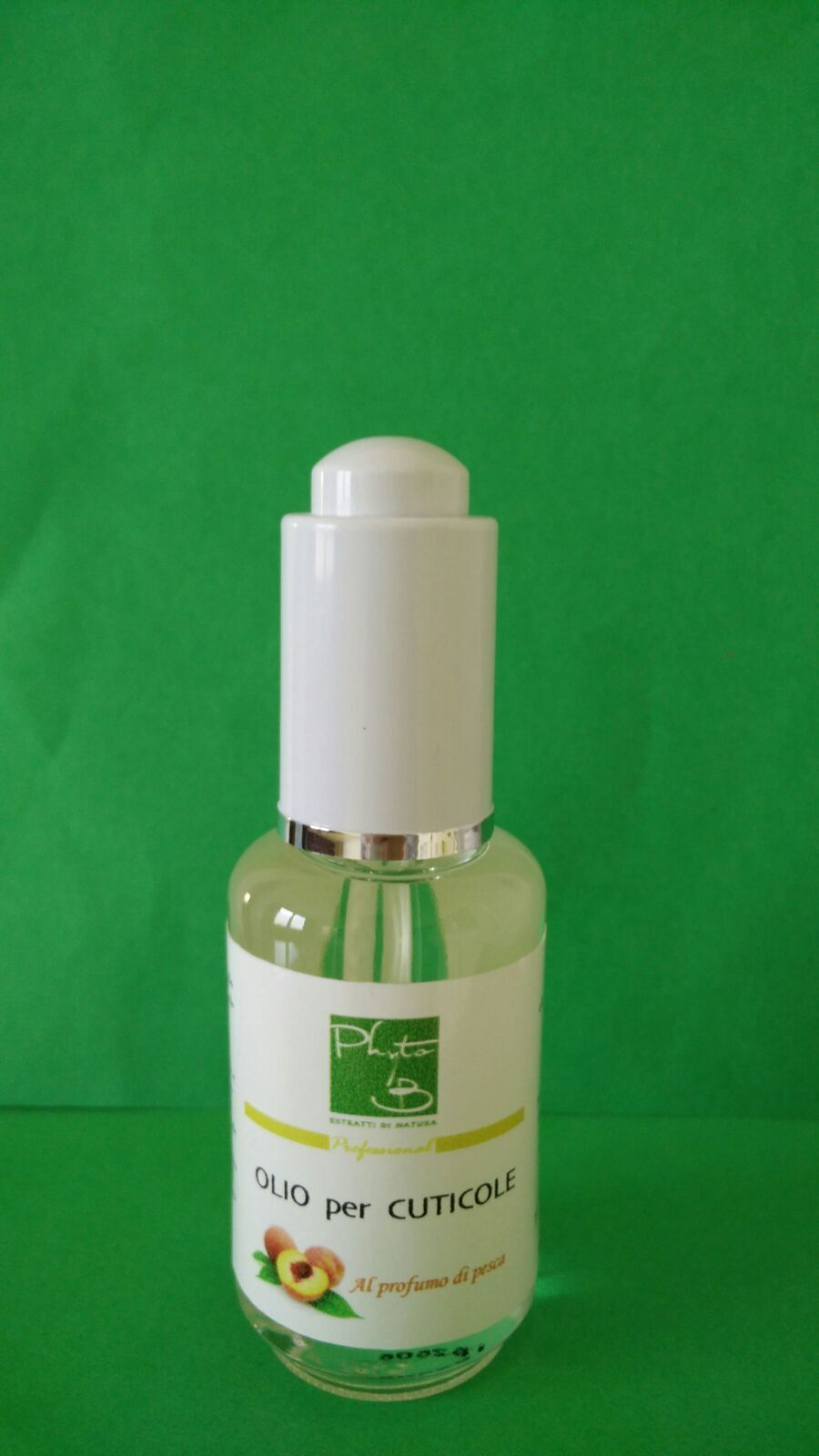 Olio per Cuticole pesca unghie jojoba avocado 30 ml