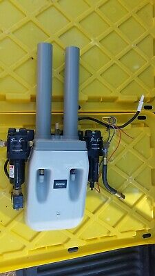 Pelton Crane Compressor Dryer And Filters From Triple Head 230v