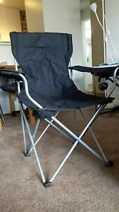 2 camping chairs - portable and foldable with bag Essendon Moonee Valley Preview