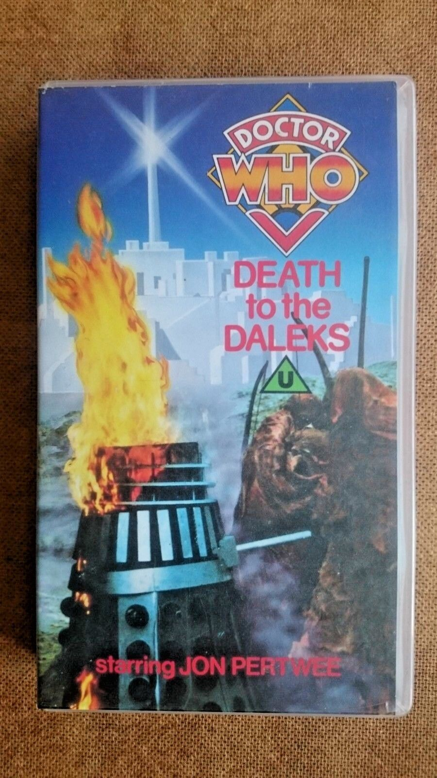 Doctor Who - Death to the Daleks (Movie VHS Edition) - Jon Pertwee