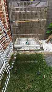 FREE large bird cage with stand St Johns Park Fairfield Area Preview