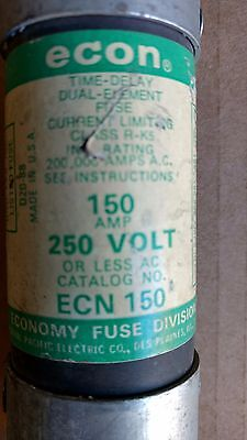 Federal Pacific Electric Co. Ecn 150 Amp Fuse