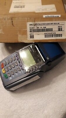 Verifone Vx 510le Vx510le Omni 3730le 5100 Credit Card Machine Printer Reader