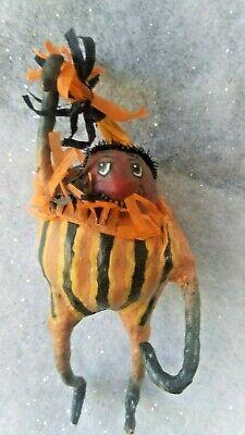 "Rare Bethany Lowe Virginia Betourne 6"" character Figure pumpkin squash"