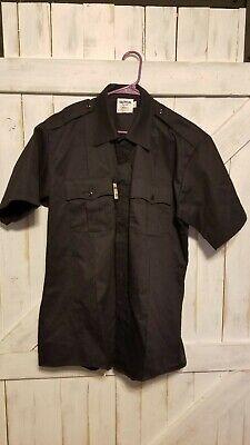 Elbeco Classic Prestige Uniform Shirt S/S Large Dark -