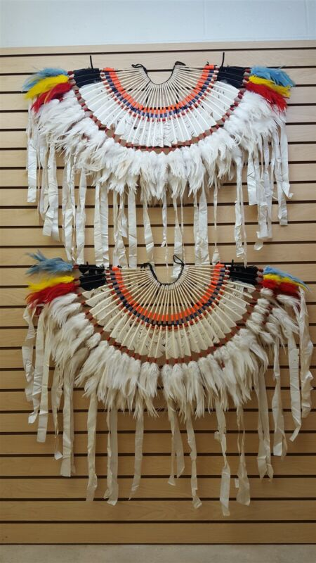 NICE HAND CRAFTED BOYS NATIVE AMERICAN INDIAN FANCY DANCE BUSTLES